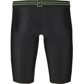 speedo Hydrosense Panel Jammers Men, black/green